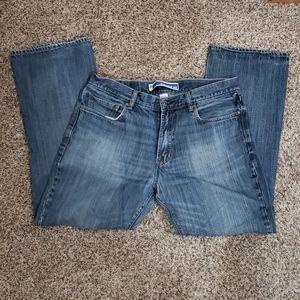 GAP Straight Fit Cut Jeans Mens Sz 35x30